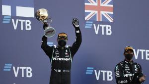 GP da Rússia: Com vitória de Bottas, recorde de Hamilton é adiado