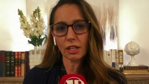 Ana Paula Henkel elogia discurso de Bolsonaro: 'Incêndios na Amazônia viraram arma política'