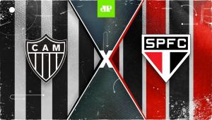 Atlético-MG 3 x 0 São Paulo - 03/09/20 - Campeonato Brasileiro - Futebol JP