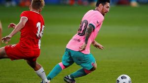Barcelona vence amistoso contra o Girona com gols de Messi e Coutinho
