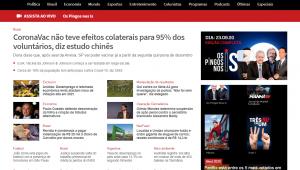 Jovem Pan é indicada a prêmio de melhor plataforma digital de notícias do Brasil