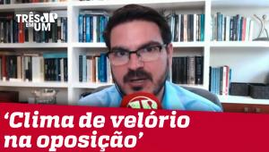 Rodrigo Constantino: Pesquisa do Ibope é ótima para o presidente e péssima para a oposição