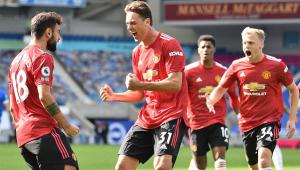 United tem pênalti após o apito final e vence o Brighton pelo Inglês