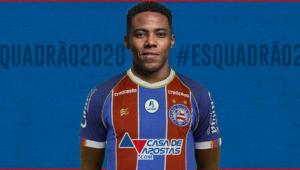 Elias celebra contrato com Bahia: 'felicidade em vestir a camisa desse clube gigante'