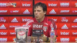 Fernando Diniz comenta boa fase de Brenner: 'Talentoso, frio e tem carisma do gol'