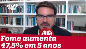 Rodrigo Constantino: Aumento da fome é obra do petismo