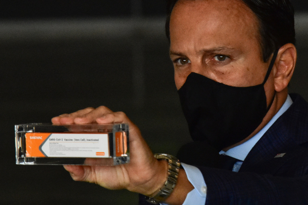 Doria parabeniza ministro da Saúde por sinalizar compra de vacina chinesa |  Jovem Pan