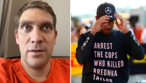 Ex-piloto polemiza e critica protesto de Hamilton contra racismo: 'Foi demais'