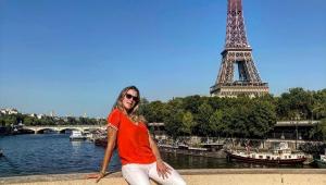 Luana Piovani testa positivo para Covid-19 após ida a Paris: 'Trancada no quarto'