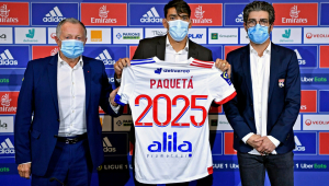 Lucas Paquetá deixa o Milan e assina por cinco temporadas com o Lyon