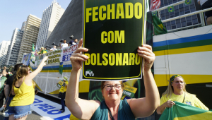 manifestação paulista bolsonaro