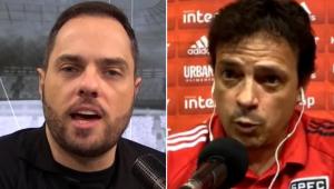 Spimpolo critica 'desculpas' e dispara: 'Diniz, você só conhece a Libertadores pela TV'