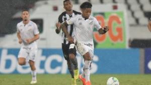 Santos empata com o Botafogo e desperdiça chance de encostar nos líderes