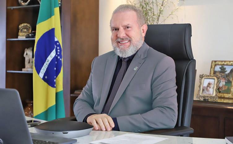 Mauro Carlesse, governador do Tocantins