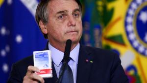 Bolsonaro na posse de Eduardo Pazuello