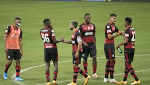Sete jogadores do Flamengo são testados para saber se podem jogar pela Libertadores