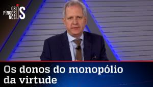 Augusto Nunes: Esquerda esqueceu a pandemia e agora procura racistas e homofóbicos