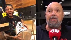 'Daniel Alves tinha era que tocar tantã lá no Equador, antes de jogar com a LDU', dispara Nilson Cesar