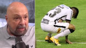 Nilson Cesar diz que Corinthians é 'muito ruim' e faz alerta: 'Pode cair de novo'