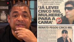 Renato Gaúcho realmente é 'pegador'? Vampeta abre o jogo e relembra história em pagode