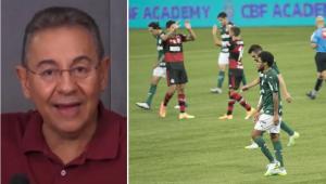 'O Palmeiras não consegue ganhar de moleque de 20 anos? Vai te catar', desabafa Flavio Prado