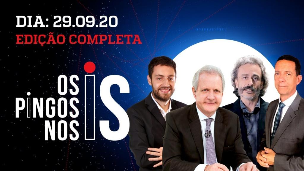 Os Pingos Nos Is - 29/09/20