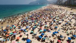 Com sensação térmica de 45,2ºC, Rio pode bater recorde de temperatura até o final de semana