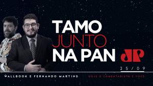 TAMO JUNTO NA PAN - 25/09/2020 - AO VIVO