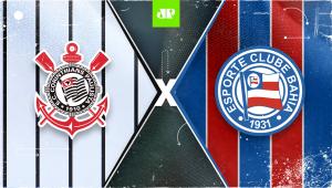 Corinthians x Bahia: assista à transmissão da Jovem Pan ao vivo