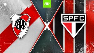 River Plate x São Paulo: assista à transmissão da Jovem Pan ao vivo