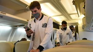Chuva impede treino do Santos no RJ e time embarca para o Equador