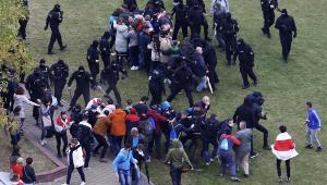 protesto Belarus