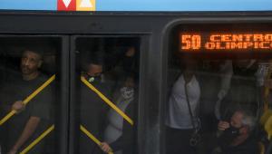 Mesmo no verão, ônibus no Rio terão que circular com o ar desligado