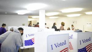 Faltando uma semana para as eleições, EUA alcançam 50% dos votos de 2016