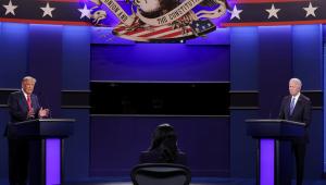 Em confronto decisivo, Biden e Trump discordam sobre pandemia
