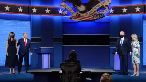 Apesar de calmo, debate presidencial dos EUA teve troca de acusações