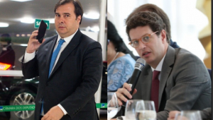 Ricardo Salles chama Rodrigo Maia de 'Nhonho' ao ser criticado nas redes sociais