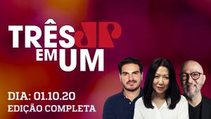 3 em 1 - 01/10/20 - Relação entre Guedes e Maia ganha novo capítulo conturbado