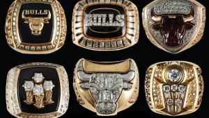 NBA: Anéis do hexacampeonato do Chicago Bulls nos anos 90 são leiloados por R$ 1,7 milhão