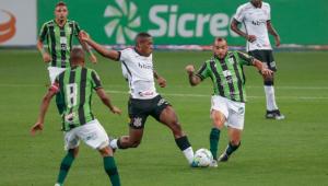 Com gol no fim, América-MG vence o Corinthians por 1 a 0 nas oitavas da Copa do Brasil