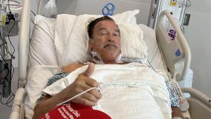 Arnold Schwarzenegger passa por cirurgia cardíaca e diz estar 'fantástico'