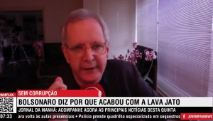 Augusto Nunes: Bolsonaro usou da ironia ao falar do fim da corrupção