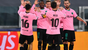 Com gol de Messi, Barcelona vence a Juventus em duelo pela Liga dos Campeões