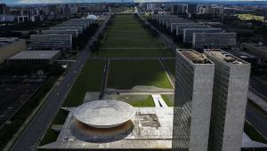 Vista aérea do Congresso Nacional