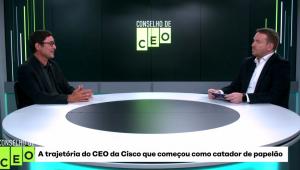 Como um ex-catador de papelão e de latinhas virou presidente da Cisco Brasil?