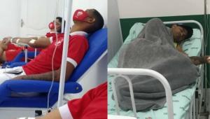 Goleiro Bruno e mais 19 jogadores do Rio Branco-AC são internados com intoxicação alimentar