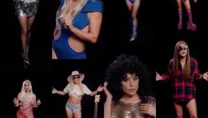 Lady Gaga aparece com looks icônicos para pedir que fãs votem