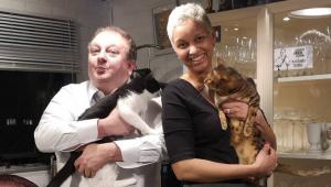 Erick Jacquin e a esposa Rosângela são diagnosticados com Covid-19