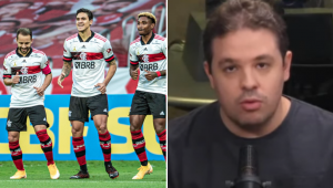'O Flamengo é disparado o melhor time e tem tudo para ganhar o Brasileiro', diz Bruno Prado
