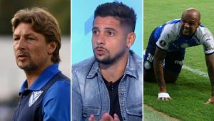 Cicinho comenta possível chegada de Heinze no Palmeiras: 'Se vier, 1º atrito é com Felipe Melo'